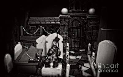 Photograph - Scary Grave Yard Scene by Doc Braham