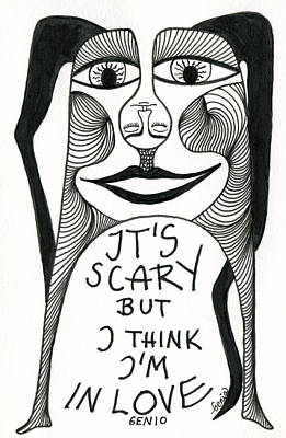 Conscious Drawing - Scary Love by Genio GgXpress