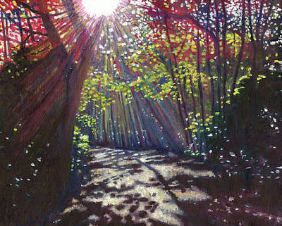 Clearing Painting - Scattered Light by Helen White