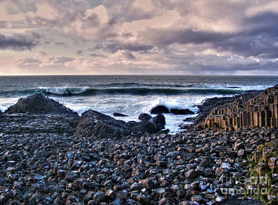 Photograph - Scene From Giant's Causeway by Nina Ficur Feenan