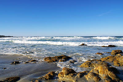 Scenic View Along 17 Mile Drive Art Print by Barbara Snyder