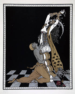 Perform Painting - Scheherazade by Georges Barbier