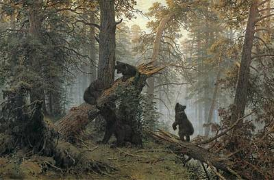 Realistic Photograph - Schischkin, Ivan Ivanovich 1832-1898 by Everett