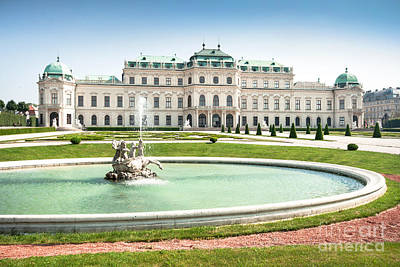 Photograph - Schloss Belvedere In Vienna by JR Photography