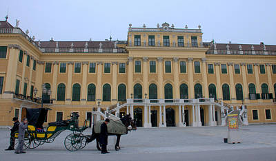 Photograph - Schonbrunn Palace I I I by Caroline Stella
