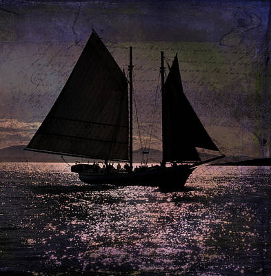 Photograph - Schooner by Fred LeBlanc