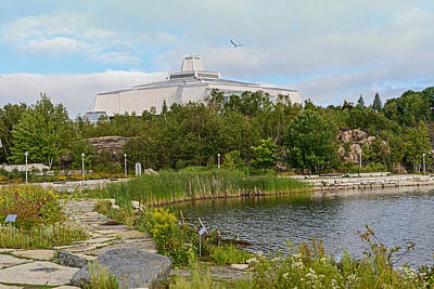 Photograph - Science Center North In Sudbury Ontario Canada by Marek Poplawski