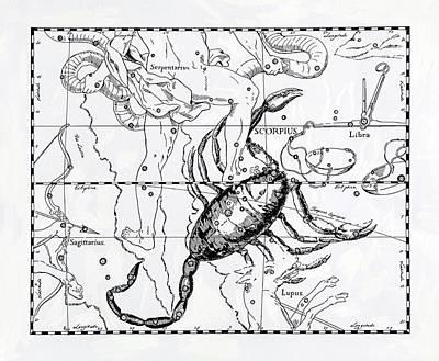 Scorpio Art Print by Detlev Van Ravenswaay
