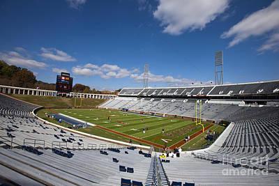 Jason O. Watson Photograph - Scott Stadium University Of Virginia by Jason O Watson