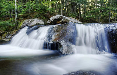 Screw Auger Falls Art Print by Chris Babcock