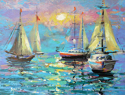 Painting - Sea Breeze by Dmitry Spiros