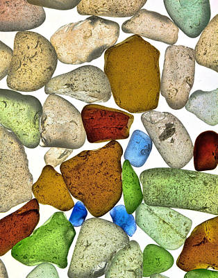 Photograph - Sea Glass by Ray Kent