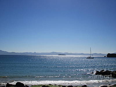 Sea In Tarifa Art Print