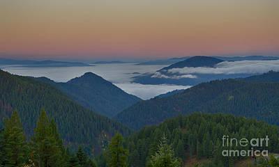 Photograph - Sea Of Fog by Idaho Scenic Images Linda Lantzy