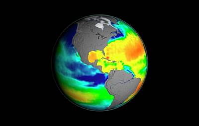 Psu Photograph - Sea Surface Salinity by Nasa/goddard Space Flight Center Scientific Visualization Studio