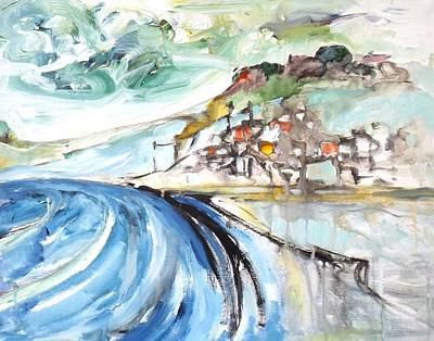 Painting - Seascape by Gloria Dietz-Kiebron