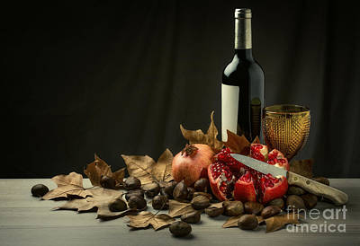 Seasonal Still-life Art Print by Carlos Caetano