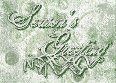 Digital Art - Season's Greetings by Shelley Bain