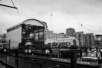 seaspan marine tugboat dock city of north Vancouver BC Canada Art Print by Joe Fox