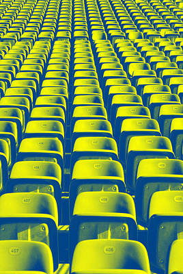 Photograph - Seats by Chevy Fleet