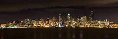 Photograph - Seattle At Night by Chris McKenna
