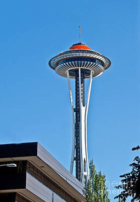 Photograph - Seattle Spaceneedle Golden Anniversary by Valerie Garner