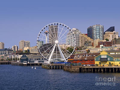 Photograph - Seattle Waterfront by Brenda Kean