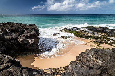 Photograph - Secret Beach Kauai by Roger Mullenhour