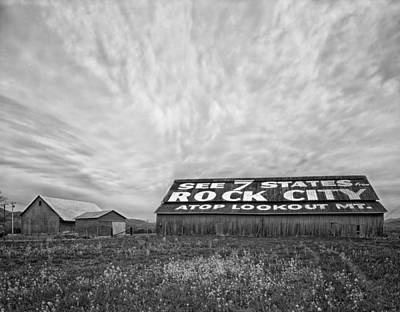 Black Rock City Photograph - See Rock City - Farm In Tennessee by Mountain Dreams