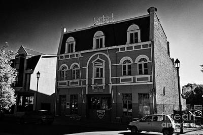 Bomba Photograph - segunda compania de bomberos bomba chile 2nd fire station Punta Arenas Chile by Joe Fox
