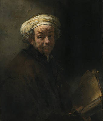 Painting - Self-portrait As The Apostle Paul by Celestial Images