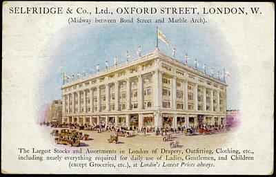 Selfridges, Oxford Street,  London Art Print