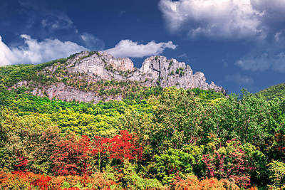 Photograph - Seneca Rocks by Mary Almond