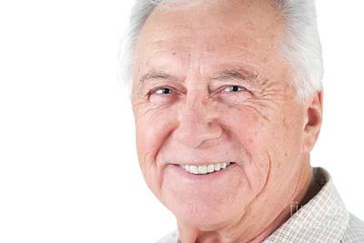 Photograph - Senior Citizen Man by Gunter Nezhoda