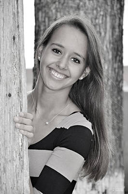Photograph - Senior Portrait 2 by Teresa Blanton