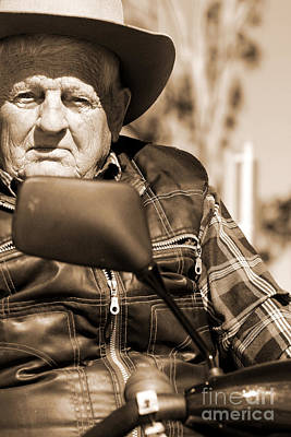 Retiree Photograph - Senior Stare by Jorgo Photography - Wall Art Gallery