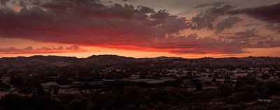 Photograph - Late Evening Sky by Tim Bryan