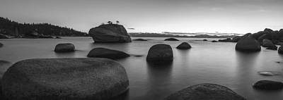 Black Photograph - Serenity by Brad Scott