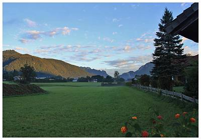 Photograph - Serenity In The Alps by Frank Wickham