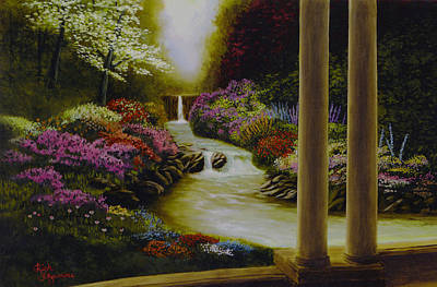 Art Print featuring the painting Serenity by Rick Fitzsimons