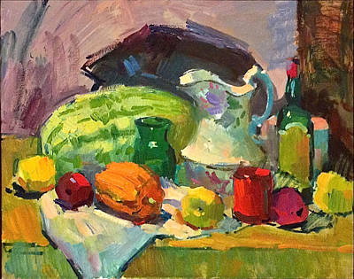 Painting - Sergei Bongart Demo by Dan Redmon