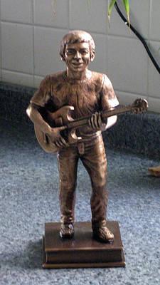 Sculpture - Sergio Romero by Patrick RANKIN