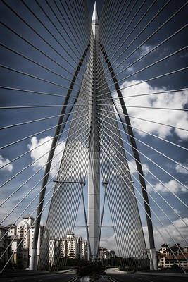 Photograph - Seri Wawasan Bridge by Zoe Ferrie