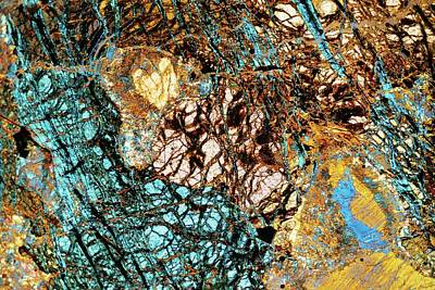 Serpentine Photograph - Serpentine Rock by Steve Lowry