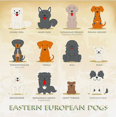 Set Of Latin American Dogs Original