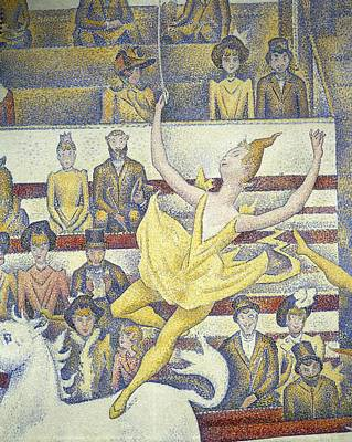 Seurat, Georges 1859-1891. The Circus Art Print by Everett