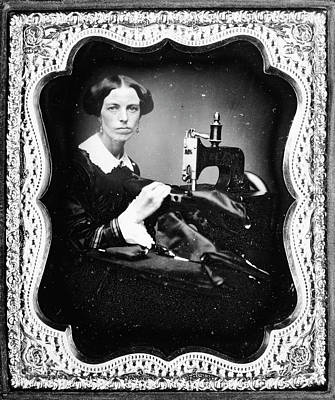 Sewing Machine Painting - Sewing Machine, C1853 by Granger