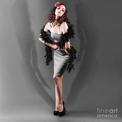 Photograph - Sexy Fashion Woman Modelling Makeup And Clothing by Jorgo Photography - Wall Art Gallery