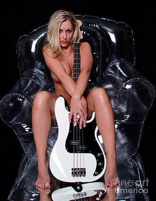 Suggestive Photograph - Sexy Guitar by Jt PhotoDesign