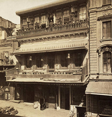 Chinatown Photograph - Sf Chinese Restaurant by Underwood Archives